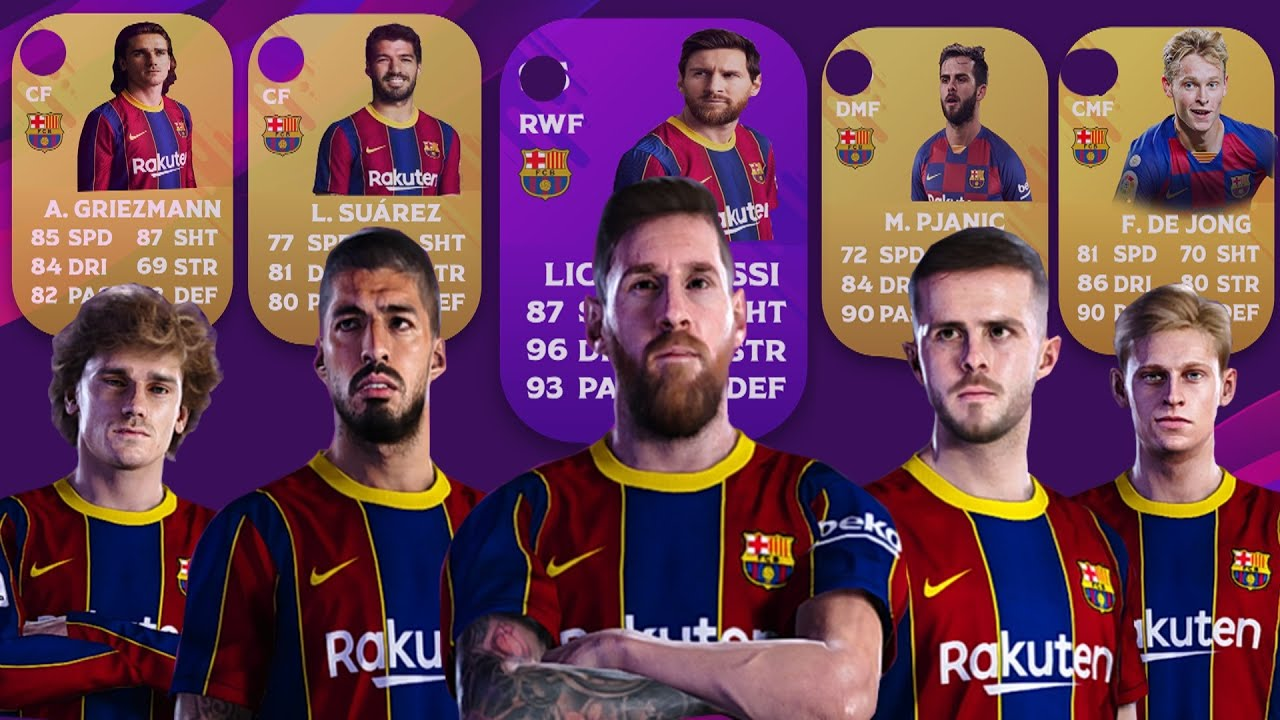 15+ Fc Barcelona Players 2021