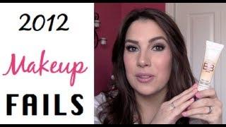 2012 Makeup Fails