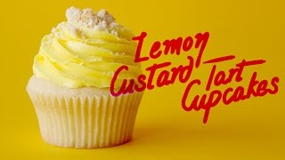 Lemon Custard Tart Cupcakes