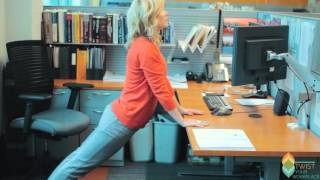 Twist Yoga - Desk Yoga for Stress Relief(Six yoga poses to do at your desk to relieve workplace stress. No yoga mat or change of clothes required!, 2016-03-19T17:48:03.000Z)