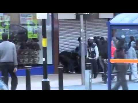 UK riots  Violence erupts in Birmingham   video   UK news   guardian co uk