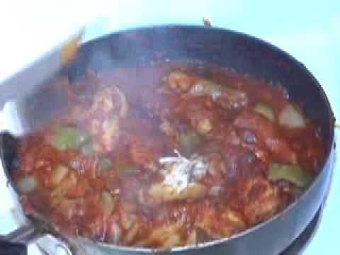 How to cook Stovetop Chicken Wing Cacciatore Italian Cuisine Recipe