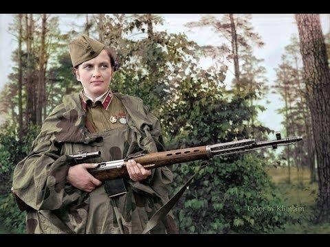 Прекрасный фильм про Советских снайперов в ВОВ