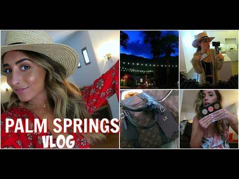 PALM SPRINGS! What I Pack & Mini HAUL! | Lauren Elizabeth