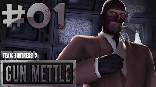 Team Fortress 2 Gun Mettle Gameplay | Contract 1