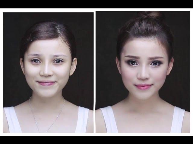 Trang điểm ngày đông - Winter makeup look (  QUÁCH ÁNH )