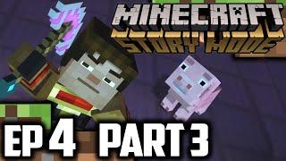 Minecraft Story Mode EPISODE 4 Part 3 | Minecraft Story Mode Episode 4 Walkthrough Gameplay