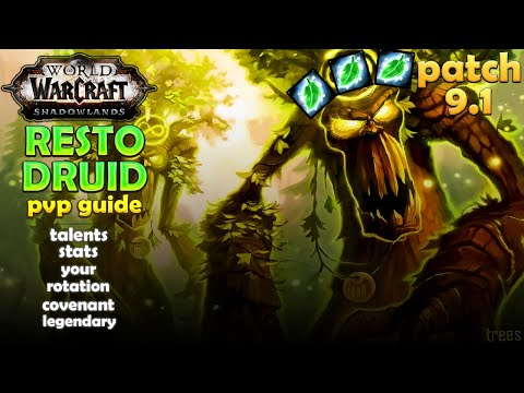 Рестор Друид ПВП гайд World of Warcraft 9.1
