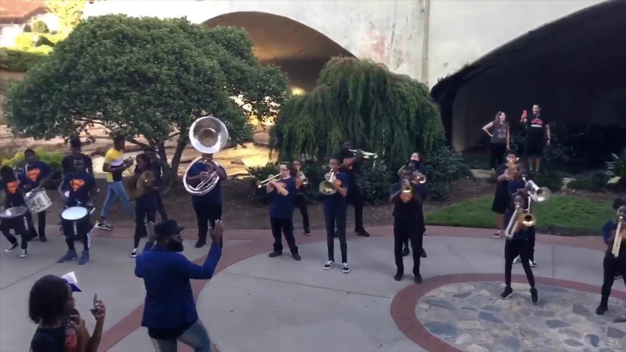 Cross High School Blue Thunder Marching Band