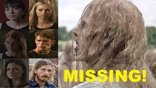 The Walking Dead Season 9 MISSING CHARACTERS - WHERE ARE THEY?