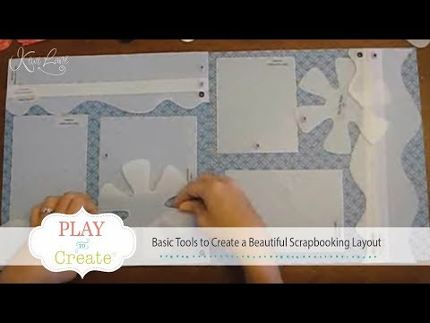 Basic Tools to Create a Beautiful Scrapbooking Layout