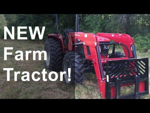 NEW Farm Tractor: Mahindra 5570 4WD Shuttle