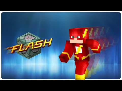 The Flash in vanilla MC   ONLY ONE COMMAND BLOCK (1.10)