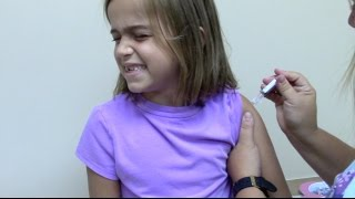 Flu Shots for 6 Kids and 2 Year Old Doctor Checkup thumbnail