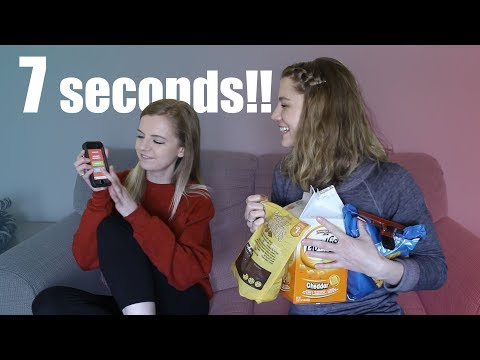 7 SECOND CHALLENGE WITH EDEN AND ELISE ECKLUND