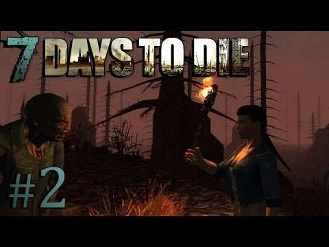 SUDDENLY SCARIEST GAME EVER? | 7 Days to Die #2