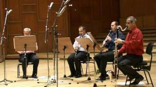 Pink panther clarinet quartet Konick.mpg
