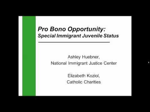 Webinar: Immigration options for unaccompanied children