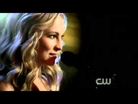 Candice Accola (Caroline Forbes) Sings Eternal Flame in Mystic Grill