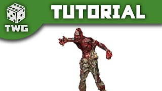 Army Painter Tutorial: How To Paint Charred Flesh On Zombicide Zombies