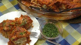 Очень Удачный Рецепт! ЛЕНИВЫЕ ГОЛУБЦЫ в духовке в томатном соусе Просто,вкусно,доступно!