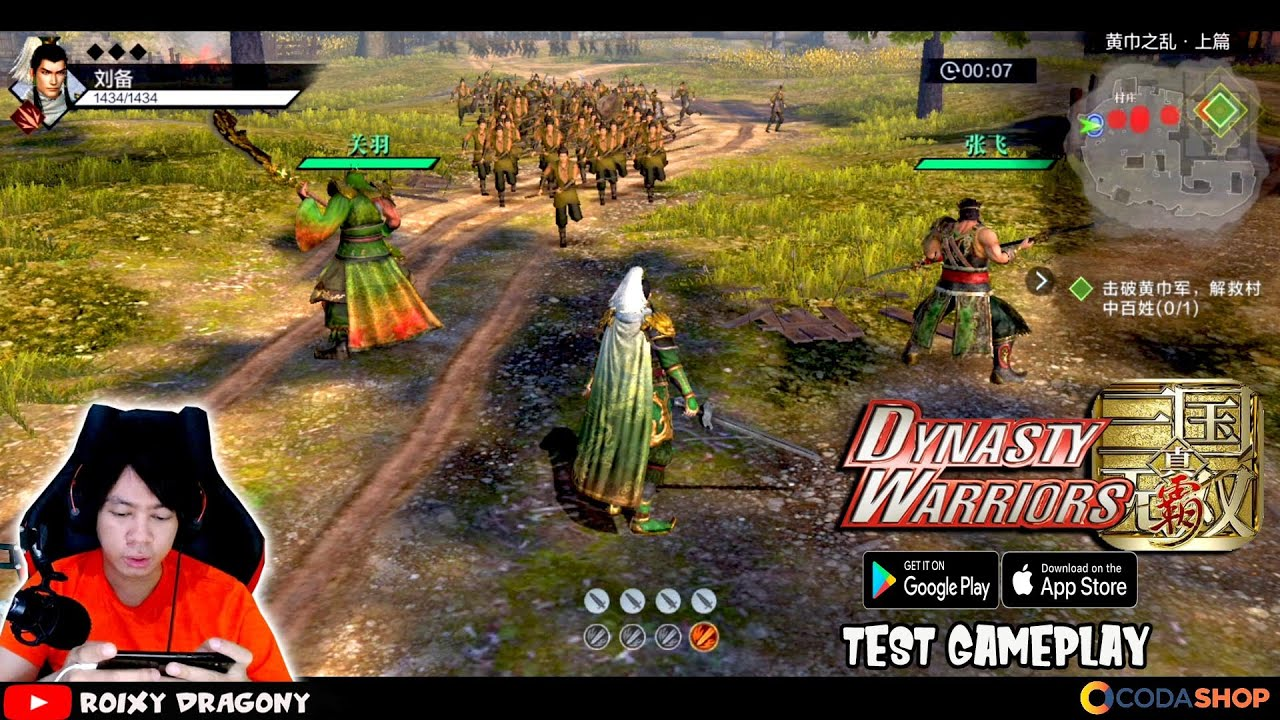Ini Dynasty Warriors 9 Mobile ?? Dynasty Warriors Mobile (TEST) Android Gameplay