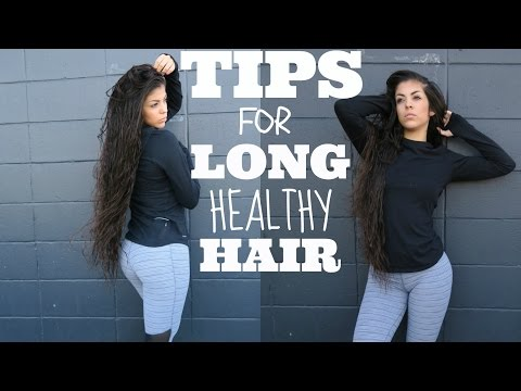 HOW TO GROW LONG HEALTHY HAIR