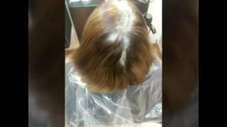Шикарное окрашивание женских волос