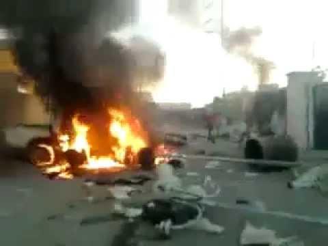Actualites.tn: Protestations à Om Laârayes poste de police attaqué !