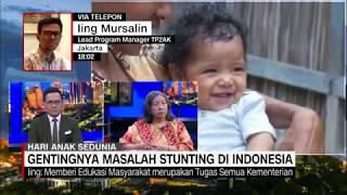 Gentingnya Masalah Stunting di Indonesia