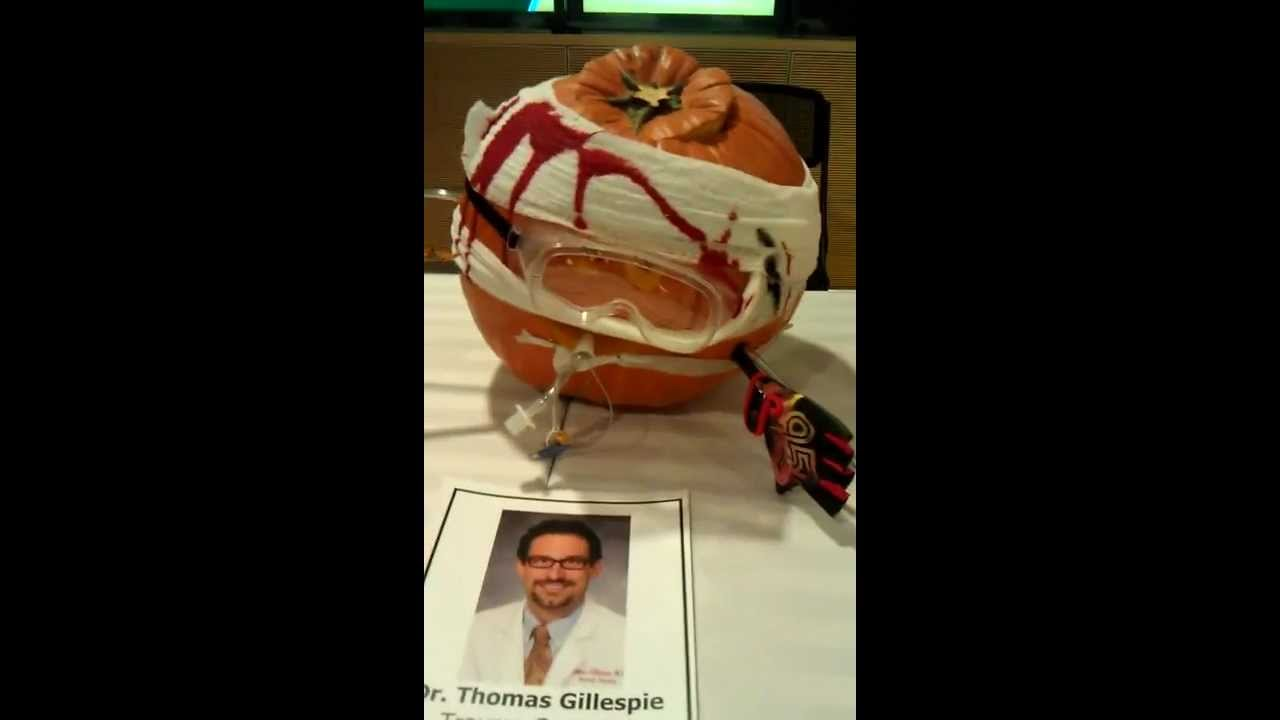 st joseph's doc-o-lantern carving contest 10-27-2011 - youtube