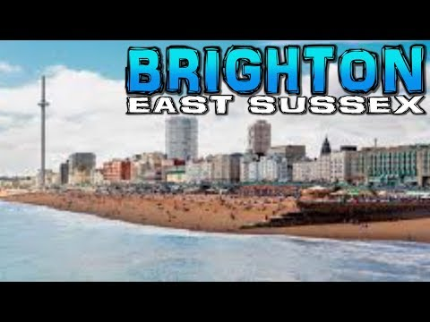 Brighton, East Sussex 4K