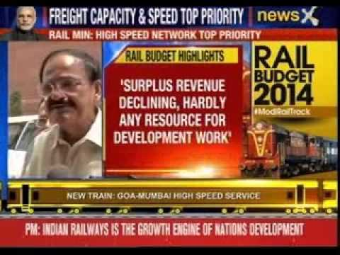 Narendra Modi government tables its first rail budget