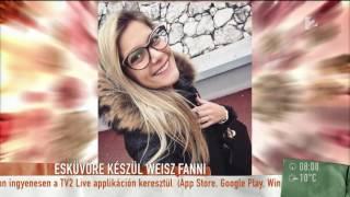 Weisz Fanni párját nem érdekli a sárdobálás - tv2.hu/mokka