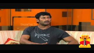 Sandhippoma @ Cinema Cafe - Pandiya Nadu (Actor Vishal & Lakshmi Menon) 13.10.2013 Thanthi Tv