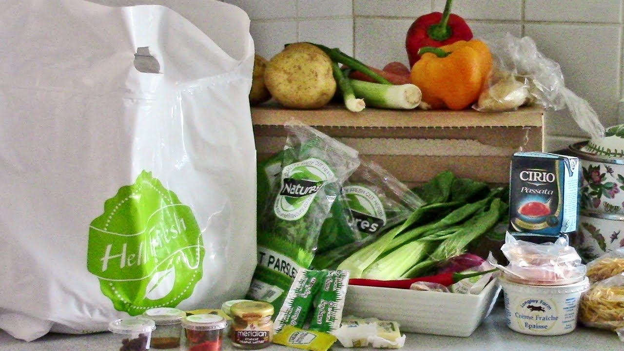 Meal Kit Delivery Service Hellofresh  Deals Buy One Get One Free April 2020