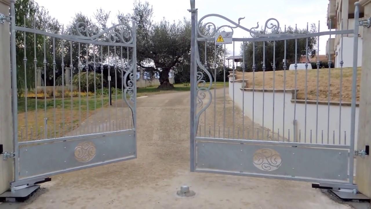 Cancello A Due Ante Battenti.Dieffematic Srl Kit Per Automazione Cancello A Battente A