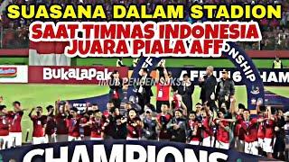 Terharu Sekaligus Meriah | Euforia Kemenangan Indonesia U-16 | Final AFF U16 Indonesia VS Thailand