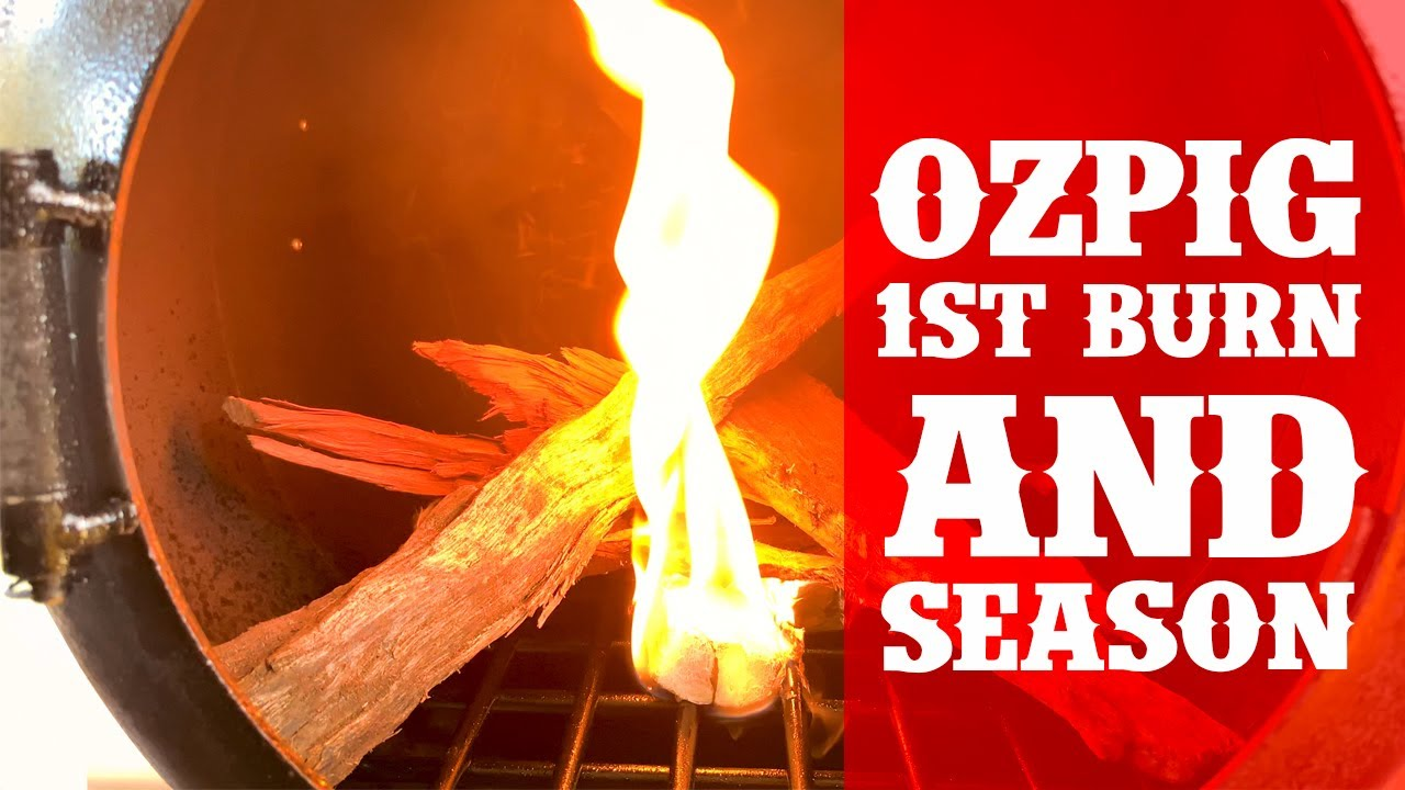 Download OzPig Wood Stove: Seasoning the ultimate Camp Cooke