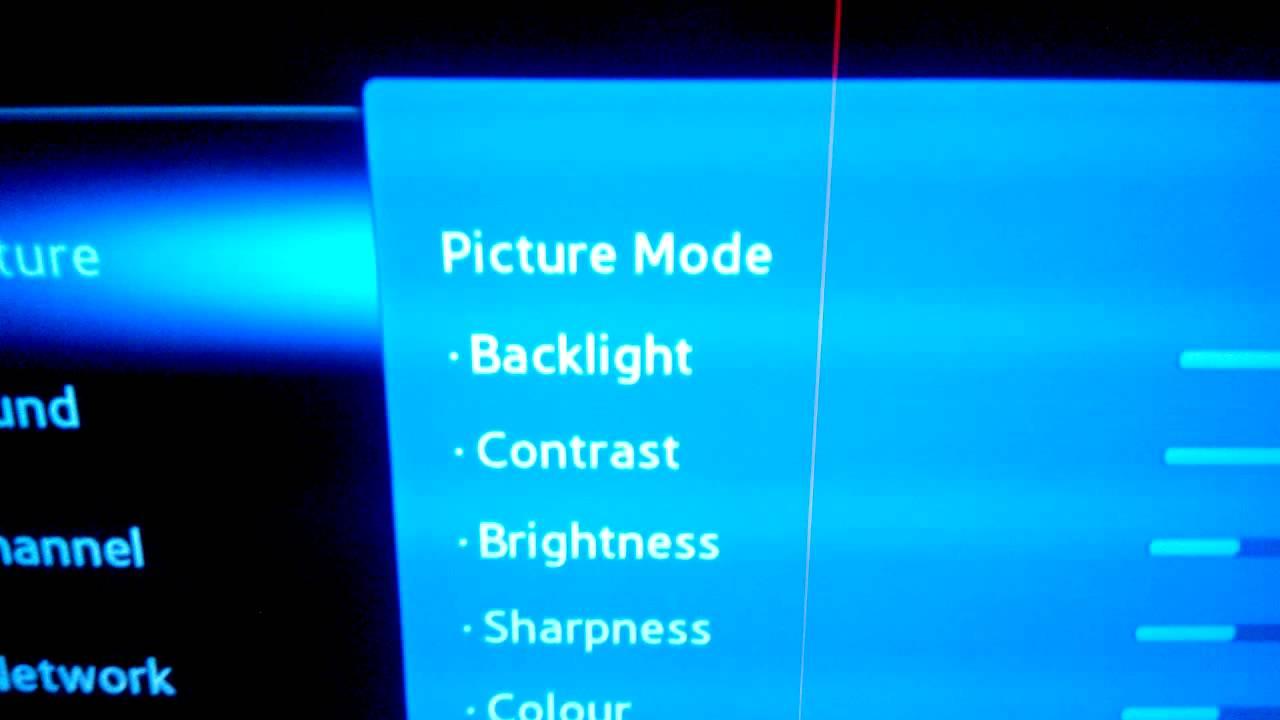 Samsung LED TV EH 5300 Killer Red Line