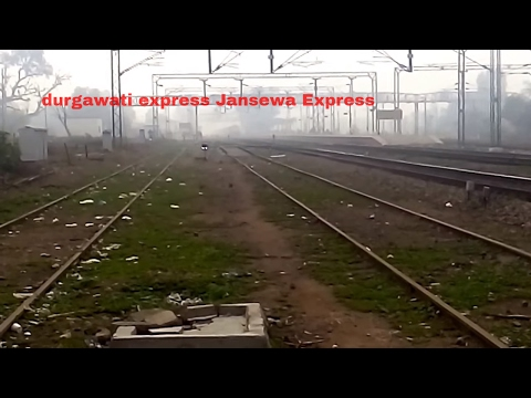 Durgawati Exp (Jabalpur - Jammu Tawi Express)and Jan sewa Express Amritsar to saharsa| Indian Rail