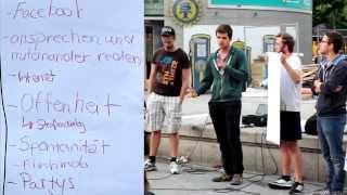 07.07.14, Mahnwache für den Frieden - Frankfurt am Main [TEIL2]