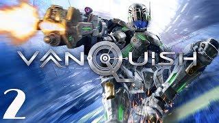 Vanquish (2017) PC Walkthrough Gameplay Part 2 - Argus Boss Fight - No Commentary