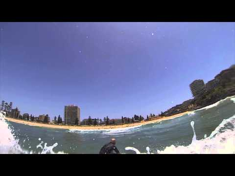 Softboard Surfing on 5'8 Fish Softboard