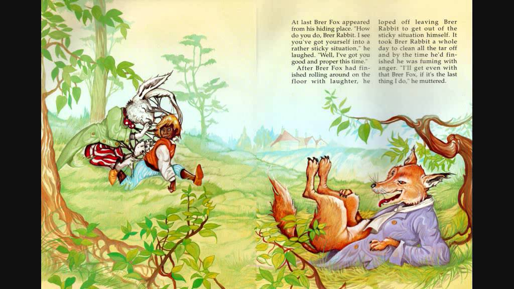 an analysis of the tale brer rabbit and the tar baby Toni morrison's tar baby (1982), is a novel about contentions and conflicts based  on learned  he rapes her while telling her the story of the tar baby  blind  race she also knows how to detach brer rabbit (son) from jadine, the tar baby.