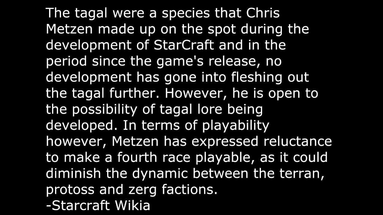 StarCraft - The Cutting Room Floor