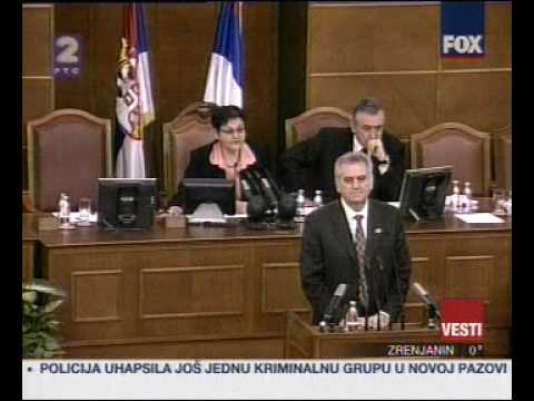 Ovo je Narodna skupština Republike Srbije!