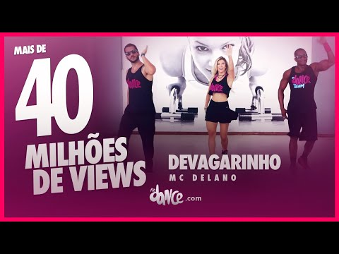 Mc Delano - Devagarinho - FitDance   Coreografia   Choreography (versão Alisson Max)
