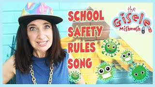 Coronavirus SCHOOL SAFETY RULES Rap Song for Kids and Toddlers   COVID 19 Health and Safety Protocol