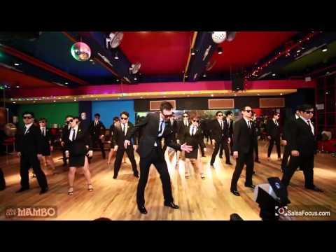 G-ya Dance company 'uptown funk' @club Mambo